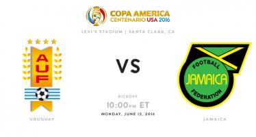 Κόπα Αμέρικα: Ουρουγουάη – Τζαμάικα