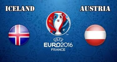 Euro 2016: Ισλανδία-Αυστρία