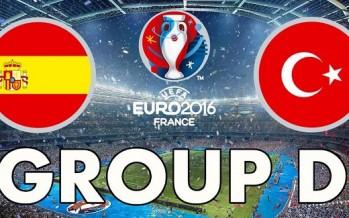 Euro 2016: Ισπανία – Τουρκία