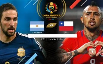 Κόπα Αμέρικα 2016: Αργεντινή – Χιλή