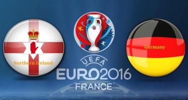 Euro 2016: Βόρειος Ιρλανδία – Γερμανία