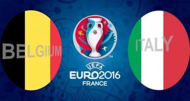Euro 2016: Βέλγιο – Ιταλία