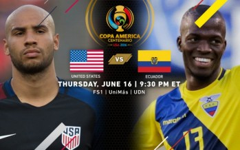 Κόπα Αμέρικα 2016: ΗΠΑ – Ισημερινός