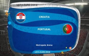 Euro 2016: Κροατία – Πορτογαλία
