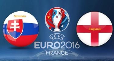 Euro 2016: Σλοβακία-Αγγλία