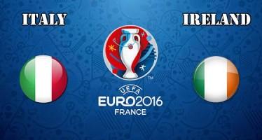 Euro 2016: Ιταλία-Ιρλανδία