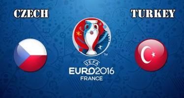 Euro 2016: Τσεχία – Τουρκία