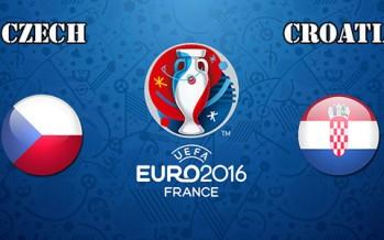Euro 2016: Τσεχία – Κροατία