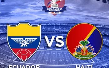 Κόπα Αμέρικα 2016: Ισημερινός – Αϊτή
