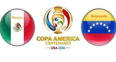 Κόπα Αμέρικα 2016: Μεξικό – Βενεζουέλα