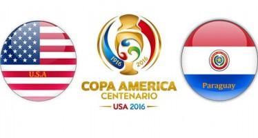 Κόπα Αμέρικα 2016: ΗΠΑ – Παραγουάη