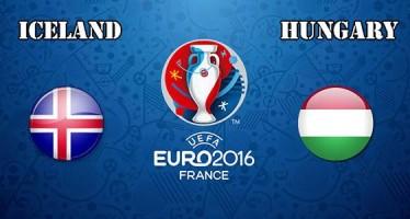 Euro 2016: Ισλανδία–Ουγγαρία