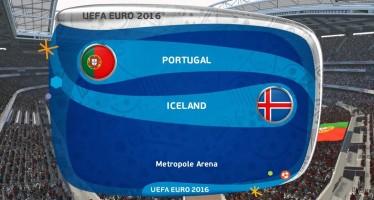 Euro 2016: Πορτογαλία – Ισλανδία
