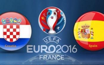 Euro 2016: Κροατία – Ισπανία