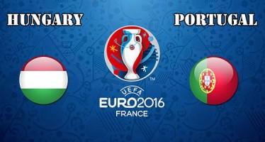 Euro 2016: Ουγγαρία–Πορτογαλία