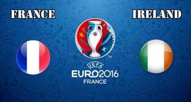 Euro 2016: Γαλλία – Ιρλανδία
