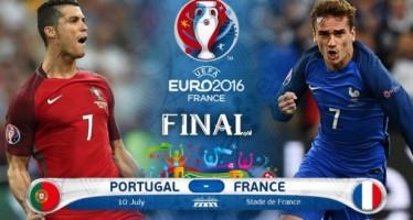 Euro 2016: Πορτογαλία – Γαλλία