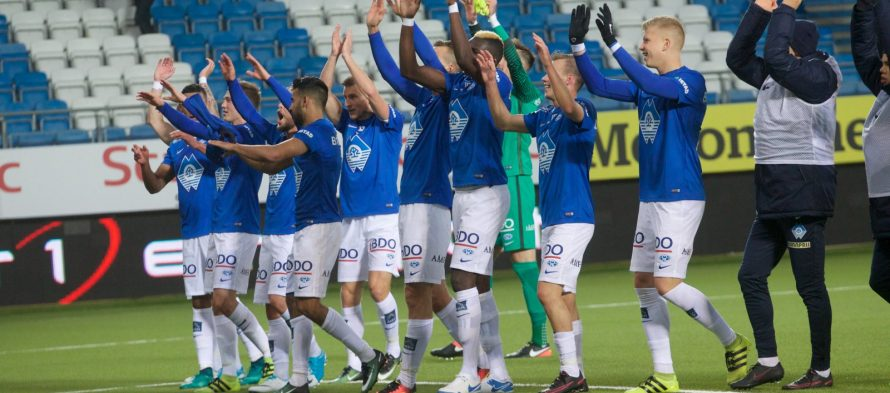 Eliteserien: Μόλντε – Στρομσγκόντσετ