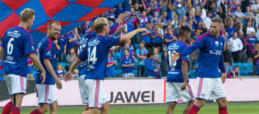 Eliteserien: Βαλερένγκα – Στάμπαεκ