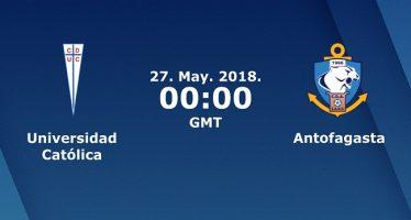 Χιλή Πριμέρα Ντιβιζόν: Ουνιβερσιδάδ Κατόλικα-Αντοφαγκάστα