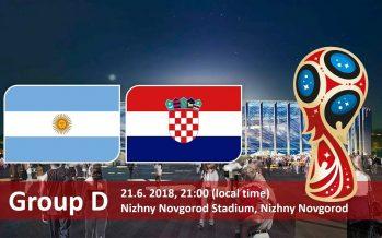 Moυντιάλ 2018 (4ος όμιλος): Αργεντινή – Κροατία