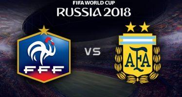 Moυντιάλ 2018 (Φάση των «16»): Γαλλία – Αργεντινή