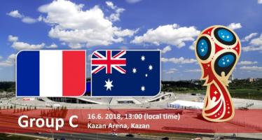 Μουντιάλ 2018 (3ος όμιλος): Γαλλία – Αυστραλία
