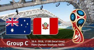 Μουντιάλ 2018 (3ος όμιλος): Αυστραλία – Περού