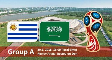 Μουντιάλ 2018 (1ος Όμιλος): Ουρουγουάη – Σαουδική Αραβία