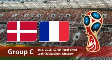 Μουντιάλ 2018 (3ος όμιλος): Δανία-Γαλλία