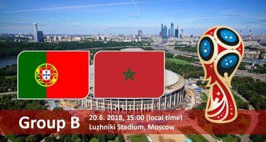 Μουντιάλ 2018 (2ος Όμιλος): Πορτογαλία-Μαρόκο