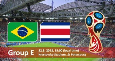 Μουντιάλ 2018 (5ος Όμιλος): Βραζιλία-Κόστα Ρίκα