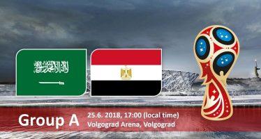 Μουντιάλ 2018 (1ος Όμιλος): Σαουδική Αραβία – Αίγυπτος