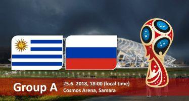 Μουντιάλ 2018 (1ος Όμιλος): Ουρουγουάη – Ρωσία