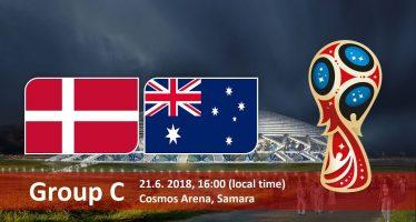 Μουντιάλ 2018 (3ος όμιλος): Δανία-Αυστραλία