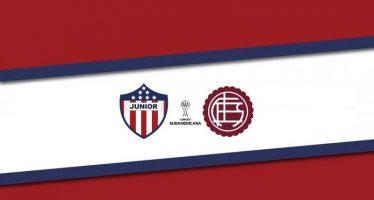 Κόπα Σουνταμερικάνα 2ος γύρος: Ατλέτικο Τζούνιορ-Λανούς