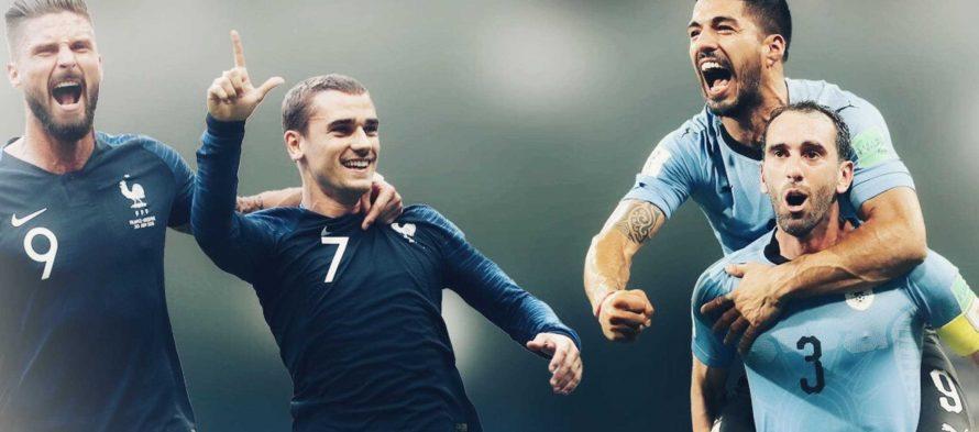 Moυντιάλ 2018 (Προημιτελικός): Ουρουγουάη – Γαλλία