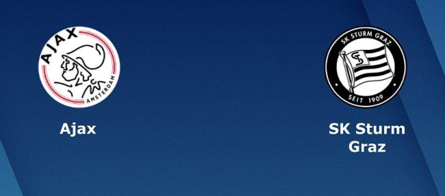 Τσάμπιονς Λιγκ 2ος Προκριματικός Γύρος: Άγιαξ-Στουρμ Γκρατς