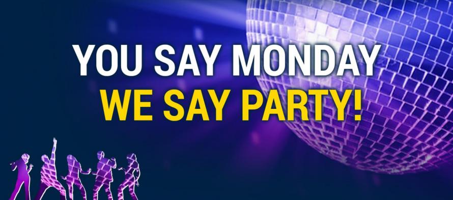 Δευτέρα, μέρα… πάρτυ! Στο Casino της betshop!