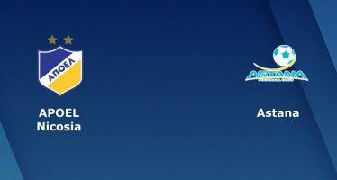 Γιουρόπα Λιγκ Πλέι-Oφ: ΑΠΟΕΛ-Αστάνα