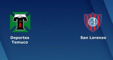 Κόπα Σουνταμερικάνα 2ος γύρος: Ντεπόρτες Τεμούκο-Σαν Λορέντζο
