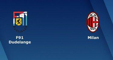 Γιουρόπα Λιγκ 6ος Όμιλος: Ντουντελάνζ-Μίλαν