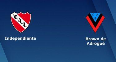 Αργεντινή Κύπελλο: Ιντεπεντιέντε-Μπράουν ντε Αντρόγκε