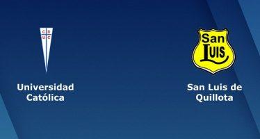 Χιλή Πριμέρα Ντιβιζιόν: Ουνιβερσιδάδ Κατόλικα-Σαν Λουίς Κιγιότα