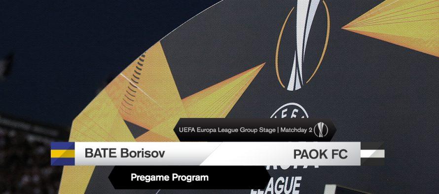 Γιουρόπα Λιγκ 12ος Όμιλος: Μπάτε-ΠΑΟΚ