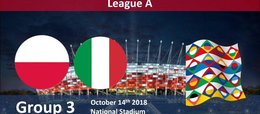 Νέισιονς Λιγκ 3ος Όμιλος (A): Πολωνία-Ιταλία