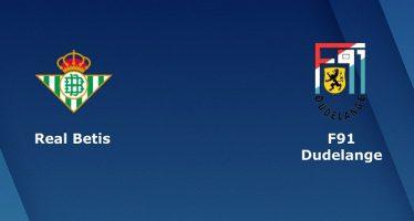 Γιουρόπα Λιγκ 6ος Όμιλος: Μπέτις-Ντουντελάνζ