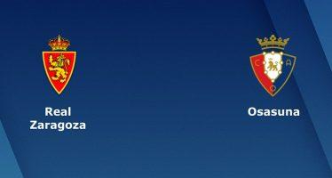 Ισπανία Σεγούντα Ντιβιζιόν: Ρεάλ Σαραγόσα-Οσασούνα