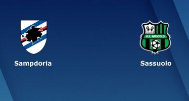 Ιταλία Σέριε Α: Σαμπντόρια-Σασσουόλο