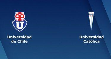 Χιλή Πριμέρα Ντιβιζιόν: Ουνιβερσιδάδ ντε Τσίλε–Ουνιβερσιδάδ Κατόλικα
